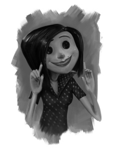 Coraline And The Other Mother The Dream Shed By Luke Thomas French